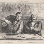 Aaron Martinet und Honoré Daumier - Das erste Glas, das sechste Glas