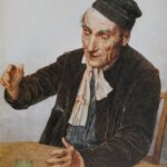 Albert Anker - Der Absinthtrinker (1908)