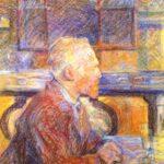 Henri de Toulouse-Lautrec - Porträt des Vincent van Gogh
