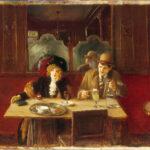 Jean Béraud - Im Cafe, Der Absinth