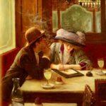 Jean Béraud - Im Cafe, Der Brief