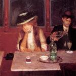 Jean Béraud - Im Cafe, Die Trinker