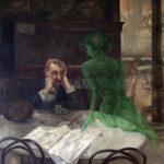 Viktor Oliva - Der Absinthtrinker